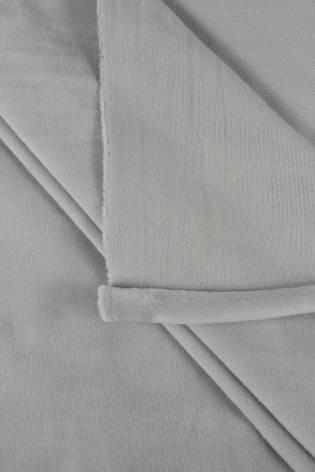 Welur aksamitny elastyczny gołębi szary 165 cm 290 g/m2 thumbnail