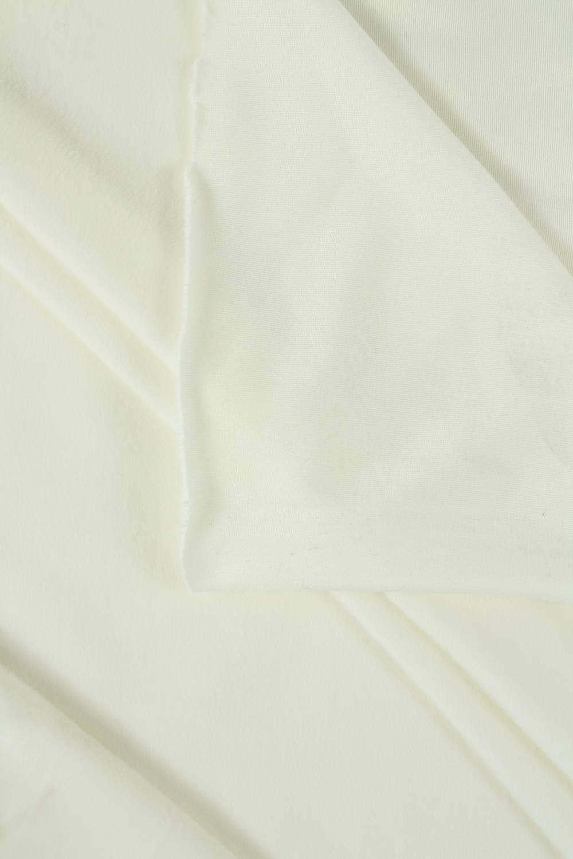 Welur aksamitny elastyczny śmietankowy 165 cm 290 g/m2