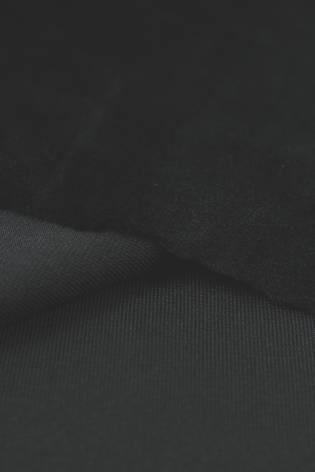 Welur aksamitny elastyczny czarny 165 cm 290 g/m2 thumbnail