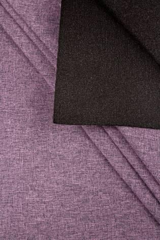Fabric - Stretch on foam - Purple Melange - 150 cm - 250 g/m2 thumbnail