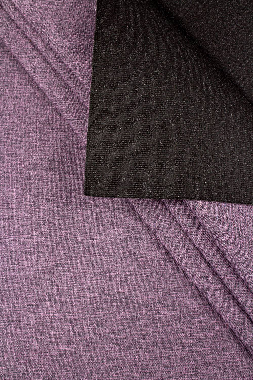 Fabric - Stretch on foam - Purple Melange - 150 cm - 250 g/m2