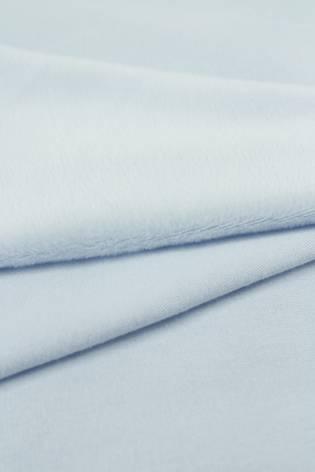 Welur aksamitny elastyczny błękitny 165 cm 290 g/m2 thumbnail