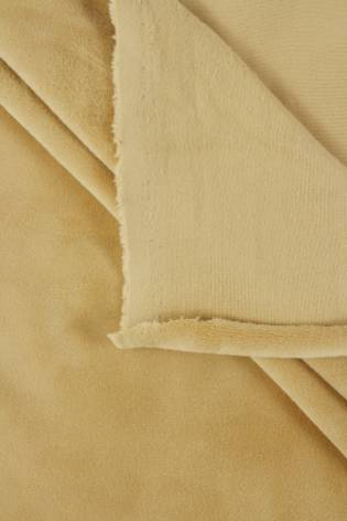 Welur aksamitny elastyczny ecru 165 cm 290 g/m2 thumbnail
