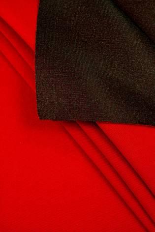 Tkanina stretch na piance - czerwony - 150cm 250g/m2 thumbnail