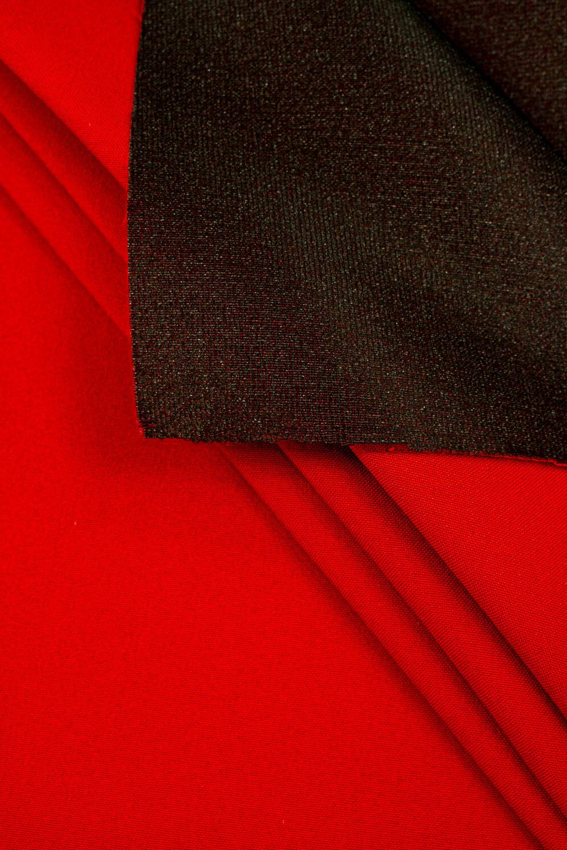 Tkanina stretch na piance - czerwony - 150cm 250g/m2