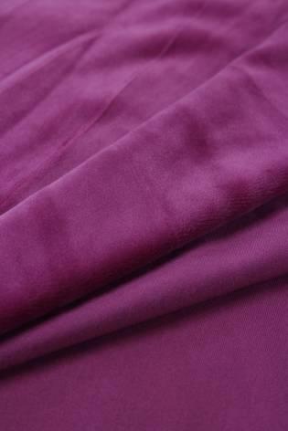 Welur aksamitny elastyczny fioletowy 165 cm 290 g/m2 thumbnail