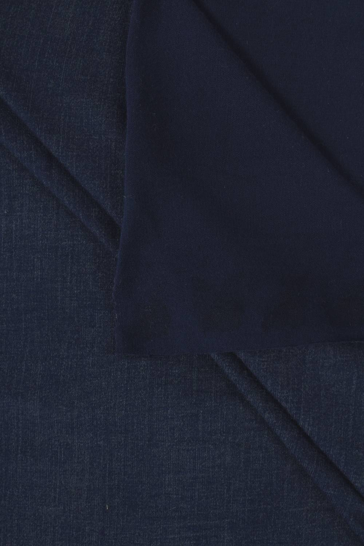 Dzianina jersey wiskozowy granatowy al'a jeans 150 cm 180 g/m2
