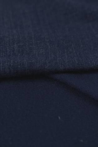 Dzianina jersey wiskozowy granatowy al'a jeans 150 cm 180 g/m2 thumbnail