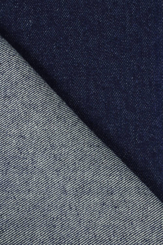 Tkanina jeans granatowa gruba 160 cm 510 g/m2