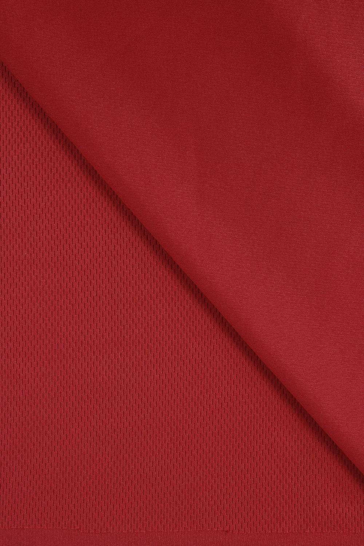 Dzianina sportowa perforowana czerwona 160 cm 170 g/m2