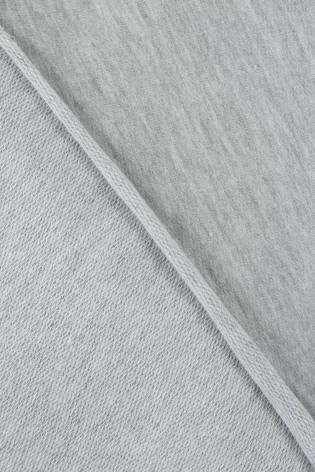 Dzianina dresówka pętelka jasny szary melanż 100 cm/200 cm 190 g/m2 thumbnail