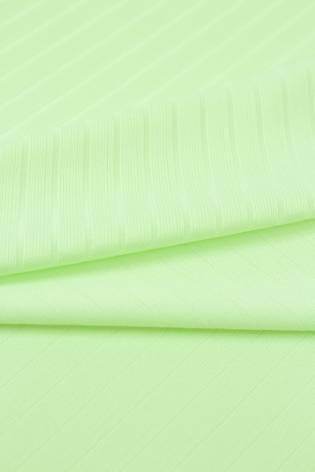 Dzianina prążkowana pastelowa limonka 145 cm 180 g/m2 thumbnail