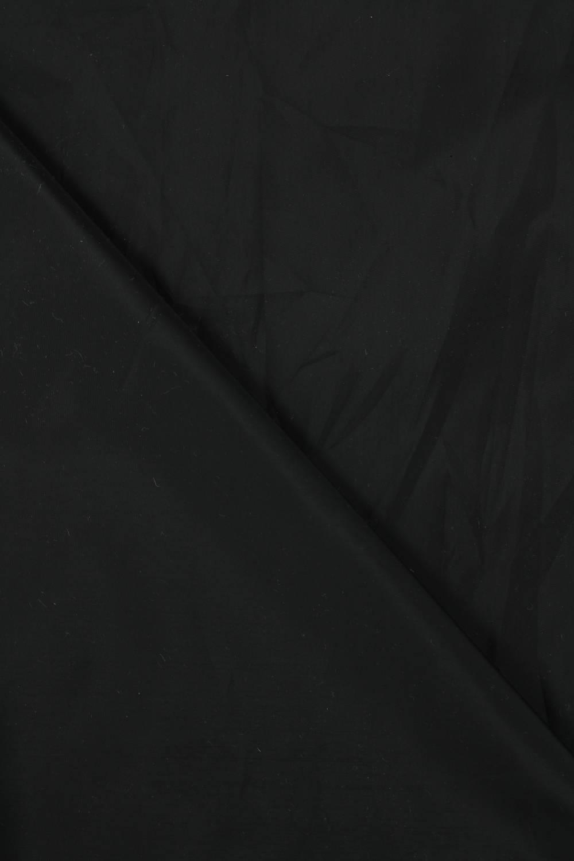Tkanina podszewka czarna błyszcząca wodoodporna 150 cm 70 g/m2