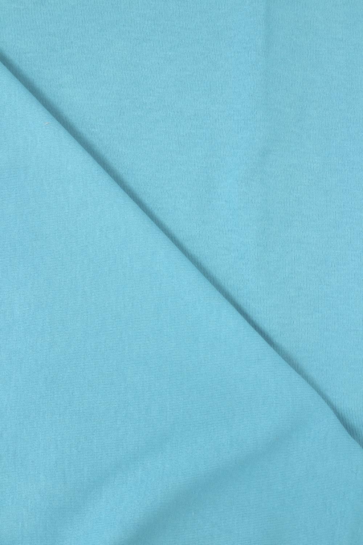 Dzianina interlock 100% bawełna turkusowy 150 cm 230 g/m2