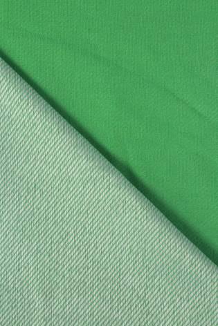 Dresówka diagonalna zielona 160 cm 270 g/m2 thumbnail