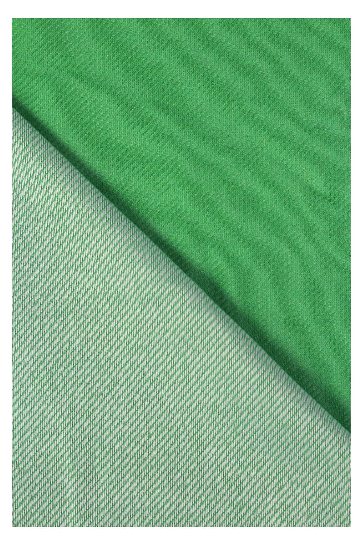 Dresówka diagonalna zielona 160 cm 270 g/m2