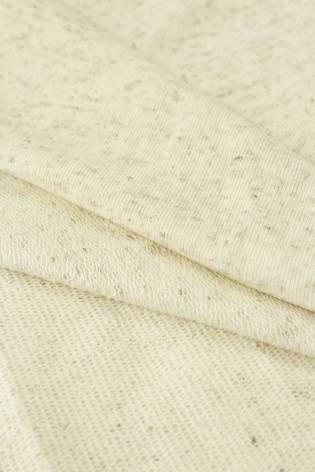 Sweatshirt French Terry Hanf beige melange 185 cm 250 g / m2 thumbnail