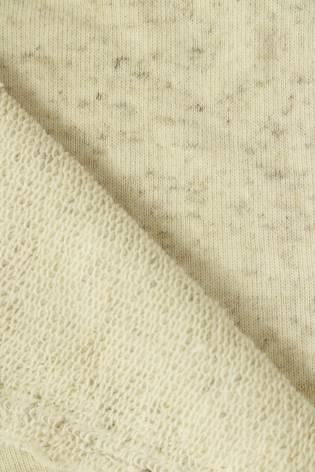 Sweatshirt French Terry Hanf beige melange 180 cm 290 g / m2 thumbnail
