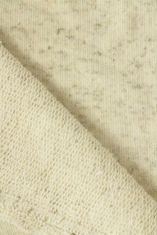 Dresówka pętelka konopna beżowy melanż 180 cm 290 g/m2