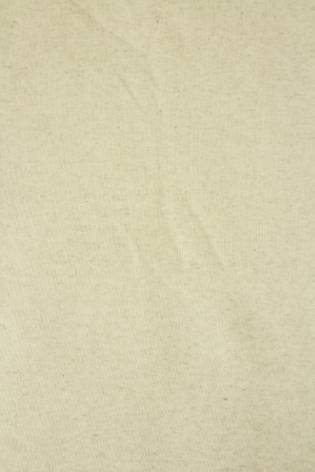 Dresówka pętelka lniana beżowy melanż GOTS 185 cm 280 g/m2 thumbnail