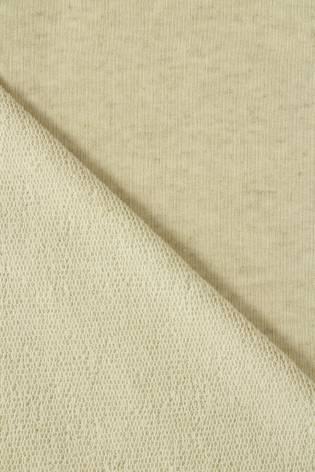 Sweatshirt French Terry Leinen beige melange GOTS 185 cm 280 g / m2 thumbnail