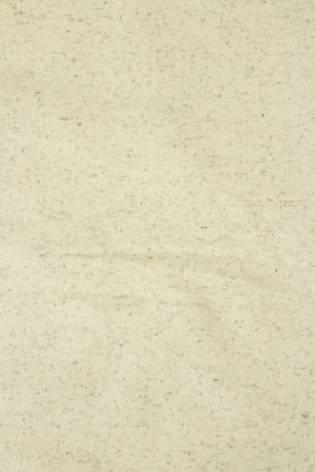 Dresówka pętelka konopna beżowy melanż GOTS 180 cm 300 g/m2 thumbnail