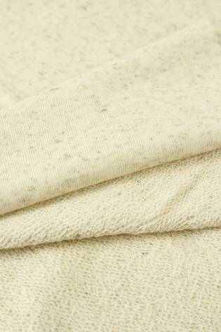 Sweatshirt French Terry Hanf beige melange GOTS 180 cm 300 g/m2 thumbnail