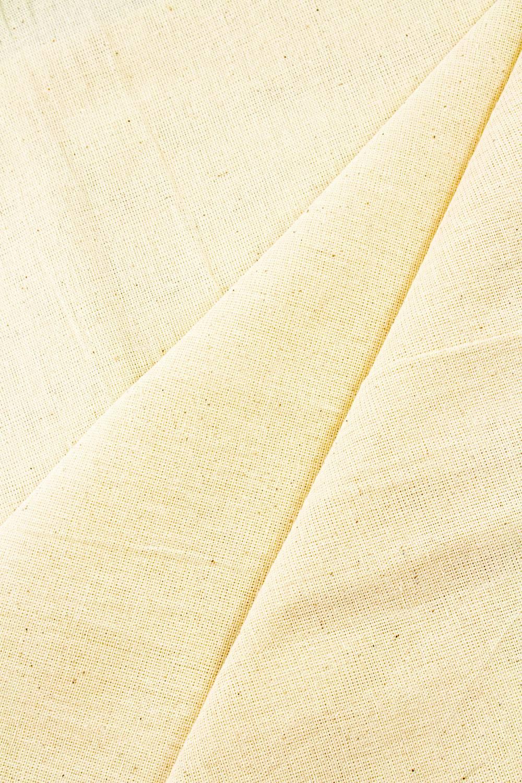 Fabric - Raw Cotton - Straw - 180 cm - 120 g/m2