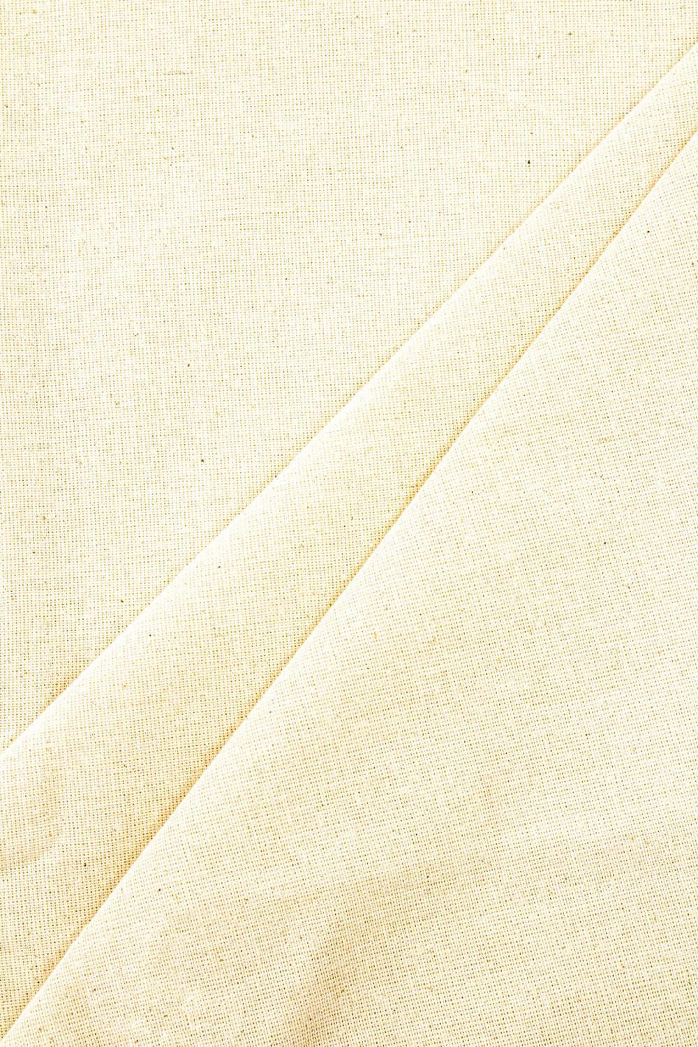 Fabric - Raw Cotton - Straw - 165 cm - 180 g/m2