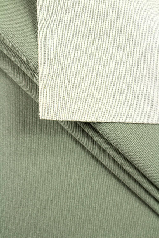 Tkanina stretch na piance - khaki - 150cm 250g/m2