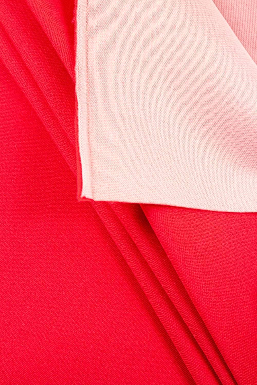 Tkanina stretch na piance - malinowy - 150cm 250g/m2