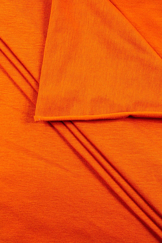 Dzianina jersey - pomarańcz - 165cm 155g/m2