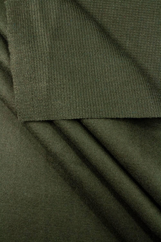 Tkanina flausz - khaki - 150cm 420g/m2