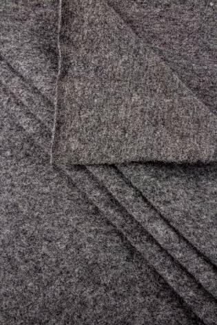 Wełna parzona - ciemny szary - 160cm 210g/m2 thumbnail