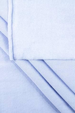 Dzianina dresowa drapana - błękitna - 155cm 230g/m2 thumbnail