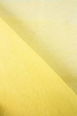 Tkanina tiulowa sztywna - żółty - 160cm 30g/m2 thumbnail
