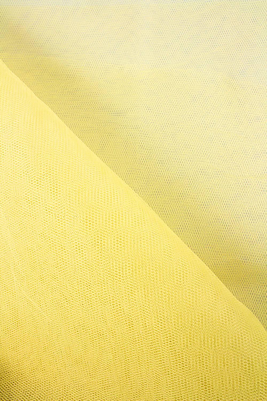 Tkanina tiulowa sztywna - żółty - 160cm 30g/m2