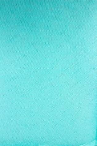 Tkanina tiulowa sztywna - turkus - 160cm 30g/m2 thumbnail