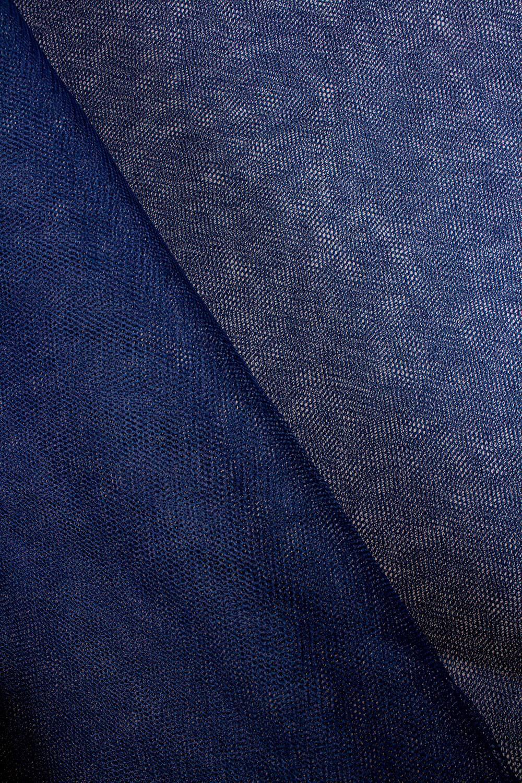 Fabric - Tulle - Rigid - Navy Blue - 160 cm - 30 g/m2