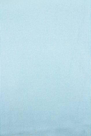 Dzianina ściągacz prążkowany błękitny - 50cm (100cm) 320g/m2 thumbnail