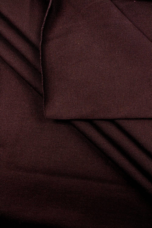 Dzianina dresowa drapana brązowa - 100/200cm - 280g/m2
