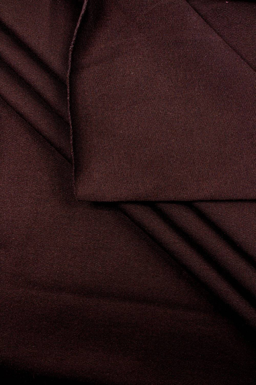 Sweatshirt knit brushed brown - 100 / 200cm - 280g / m2