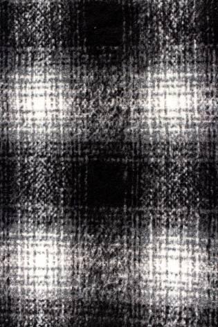 Tkanina wełniana/moherowa w kratkę - 150cm 380g/m2 thumbnail