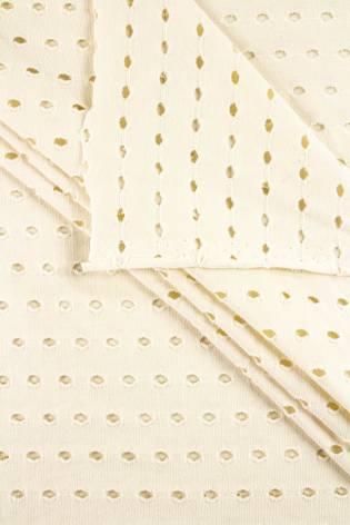 Knit - Jersey - Perforated - Ecru - 170 cm - 200 g/m2 thumbnail