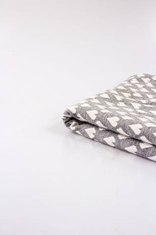 Knit - Sweatshirt Type - Structural Hearts - 170 cm - 220 g/m2 thumbnail