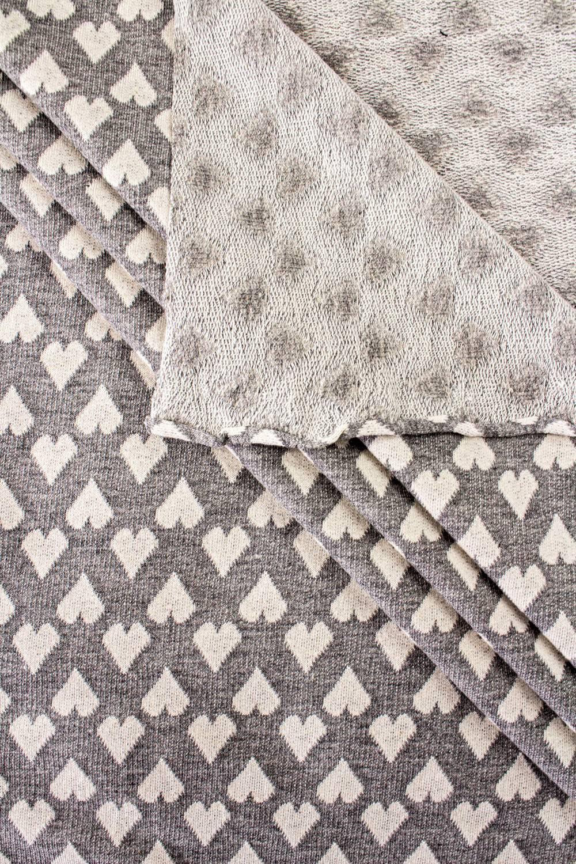 Knit - Sweatshirt Type - Structural Hearts - 170 cm - 220 g/m2