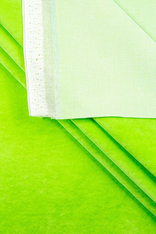 Welur tapicerski - zielony - 150cm 300g/m2
