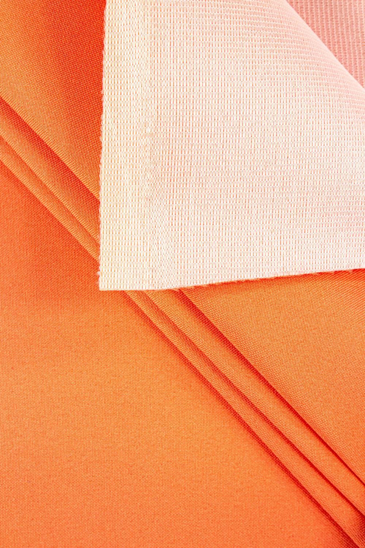 Tkanina stretch na piance - pomarańczowy - 150cm 250g/m2