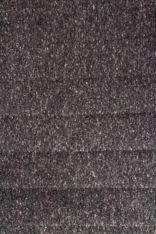 Dzianina pikowana grafitowy melanż - 160cm 350g/m2 thumbnail