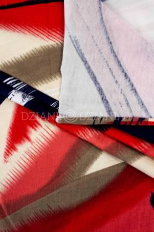 Knit - Viscose Jersey - Colourful Smudges - 155 cm - 190 g/m2 thumbnail